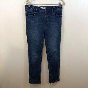 LOFT Modern Straight Leg Jeans, Size 6